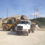 W Frazier Construction provides Trucking and Limestone sales serving Charleston SC county since 1982